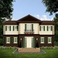 Casa structura lemn 120mp utili / 142mp construiti