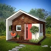Casa structura lemn 18mp utili / 21mp construiti
